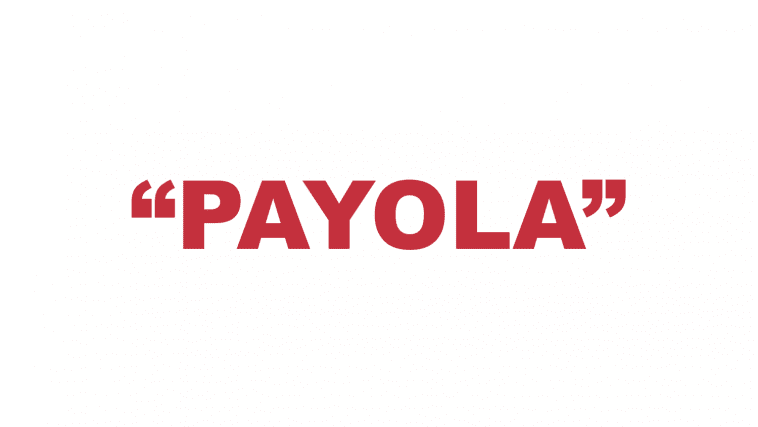 "What does ""Payola"" mean?"