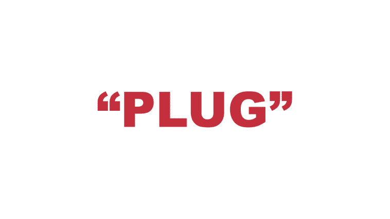 "What does ""Plug"" mean?"