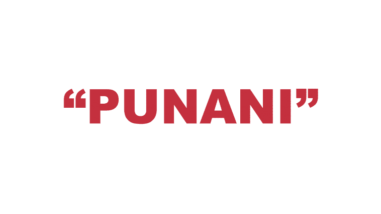 "What does ""Punani"" mean?"