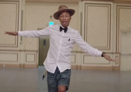 "Pharrell Williams's ""Happy"" was the first song to have a 24-hour music video"