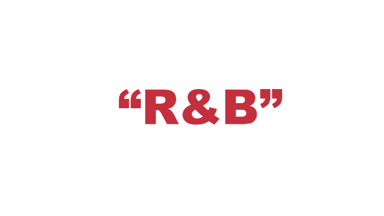 "What does ""R&B"" stand for?"
