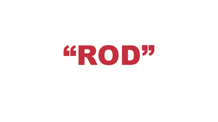 "What does a ""Rod"" mean?"