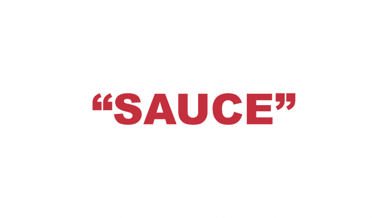 "What does ""Sauce"" mean?"
