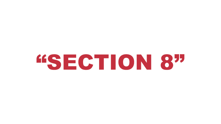 """What does """"Section 8"""" mean?"""