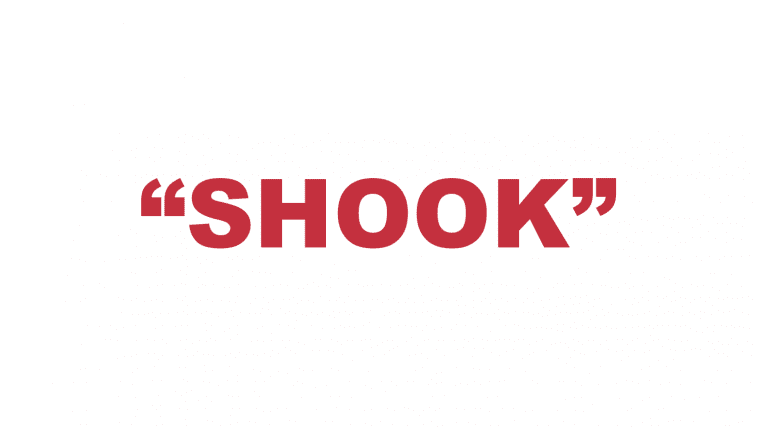 "What does ""Shook"" mean?"