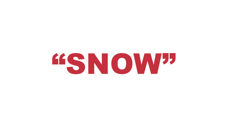 """What does """"Snow"""" mean in rap?"""