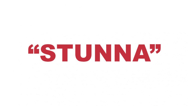 "What does ""Stunna"" mean?"