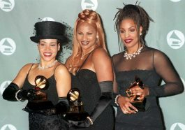 Queen Latifah & Salt-N-Pepa were the first female rappers to win a Grammy