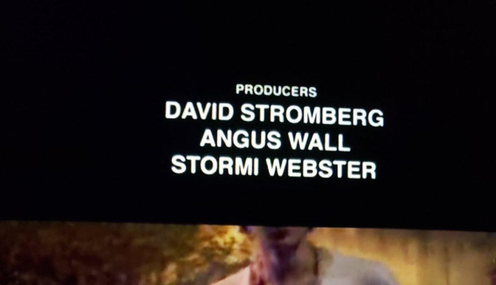 Stormi Webster Producer on Look Mom I Can Fly