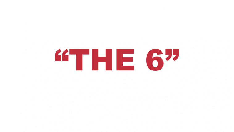 "What does ""The 6"" mean?"