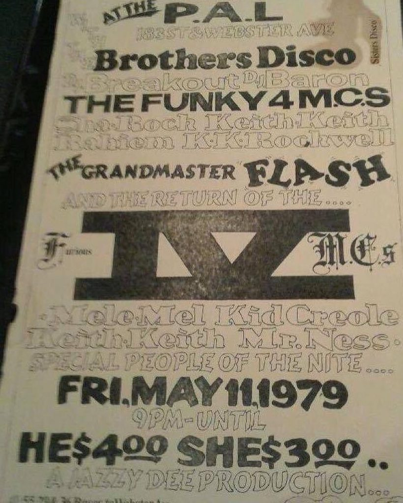 The Funky 4 MCs Vs. Furious Five MCs was the first rap battle.
