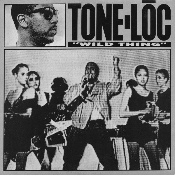 Tone-Loc Wild Thing was the first rap platinium single