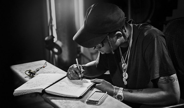 Why physically writing lyrics could help improve songwriting