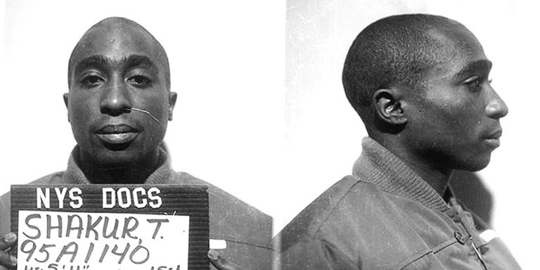 "2Pac was the first artist to have a No. 1 album while serving a prison sentence with ""Me Against the World"""