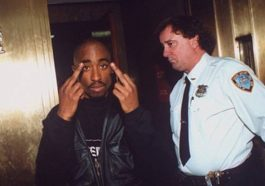 Tupac Shakur once shot two off-duty police officers