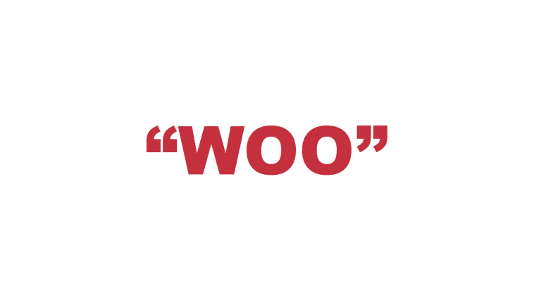 "What does ""Woo"" mean?"