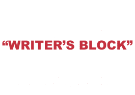 "What does ""Writer's block"" mean?"