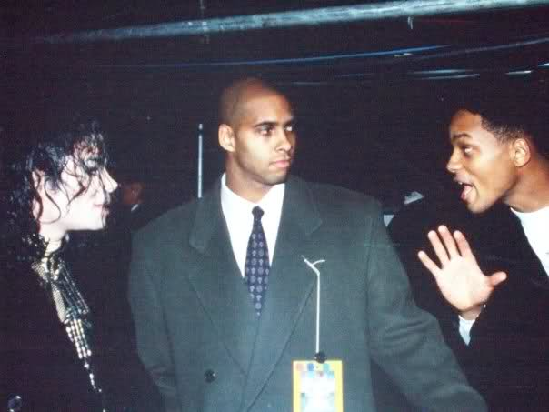 Will Smith met Michael Jackson for the first and last time in a utility closet