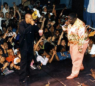 Jay-Z and Biggie