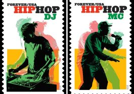 Hip Hop immortalized with 4 new postage stamps, and they're fresh!