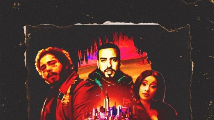 French Montana gets help from Post Malone, Cardi B, and Rvssian for his new single 'Writing on the Wall'
