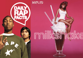 "Kelis' ""Milkshake"" was written and produced by Pharrell Williams and Chad Hugo"